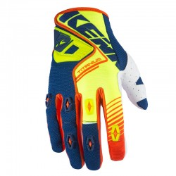 Guantes Kenny Titanium Neón Yellow Blue