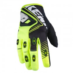 Guantes Kenny Titanium Neón Yellow Black