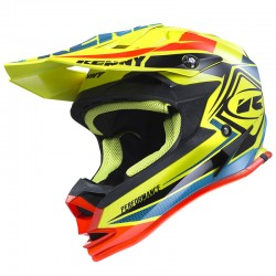 Casco Kenny MX / Enduro Performance Amarillo Fluor