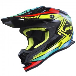 Casco Kenny MX / Enduro Performance Amarillo Negro