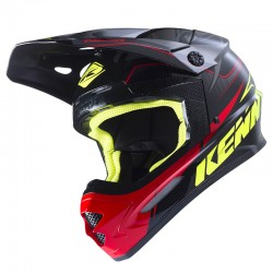 Casco Kenny MX / Enduro Track Negro Gris