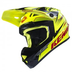 Casco Kenny MX / Enduro Track Amarillo Fluor