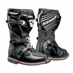 Botas Kenny Track Junior Negra