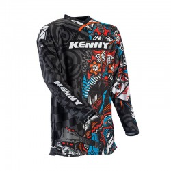 Polera MX Kenny Performance Fanatik Niño