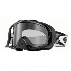 Antiparra Crowbar Mx Jet Black Speed Dark Grey Oakley