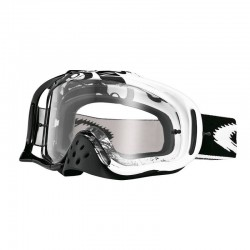 Antiparras Crowbar Mx Jet Black Speed Grey Oakley