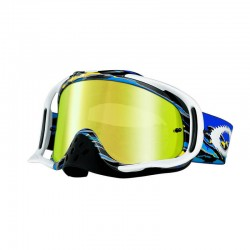 Antiparras Crowbar Mx Fastline Blue Yellow Oakley