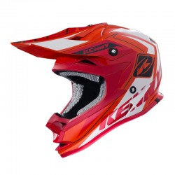 Casco Off-Road Kenny Performance Naranjo / Rojo