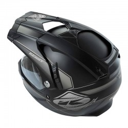 Vicera Casco Kenny XTR Negro Mate / Gris