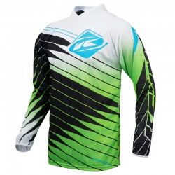 Polera MX Kenny Performance Negro / Verde