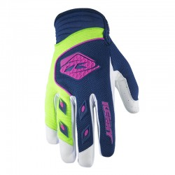 Guantes Kenny Track Navy Lima Niño