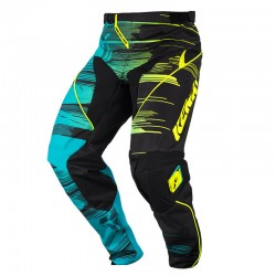 Pantalón MX Kenny Performance Aqua Yellow